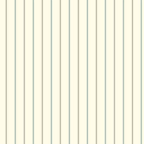 York Wallcoverings Menswear 3-Pinstripe Blue and Black Removable Wallpaper-SAMPLE SWATCH ONLY