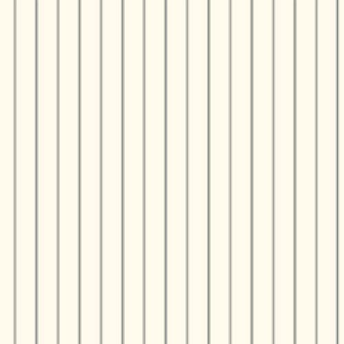 York Wallcoverings Menswear 3-Pinstripe Black and Metallic Removable Wallpaper