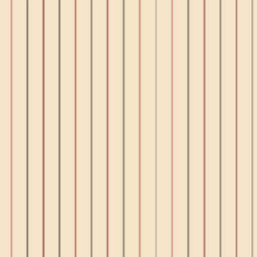 Menswear 3-Pinstripe Red and Black Removable Wallpaper