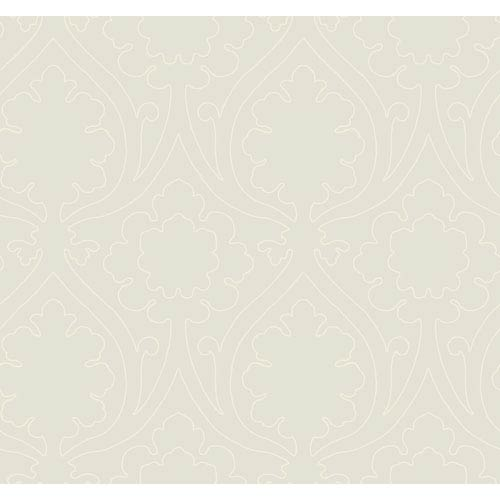 York Wallcoverings Candice Olson Inspired Elements Idyll Wallpaper: Sample Swatch Only