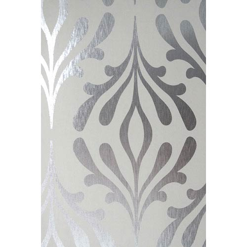 York Wallcoverings Candice Olson Inspired Elements Stardust Wallpaper: Sample Swatch Only
