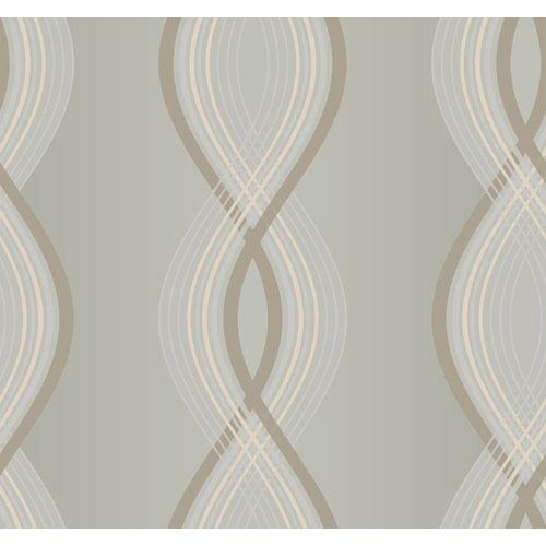 York Wallcoverings Candice Olson Inspired Elements Moda Wallpaper