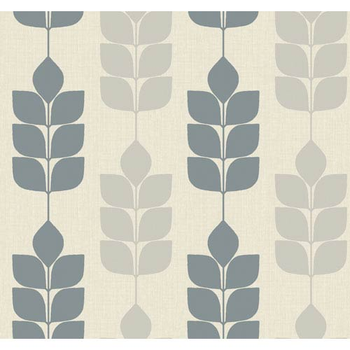 York Wallcoverings Candice Olson Inspired Elements Modern Petals Wallpaper: Sample Swatch Only