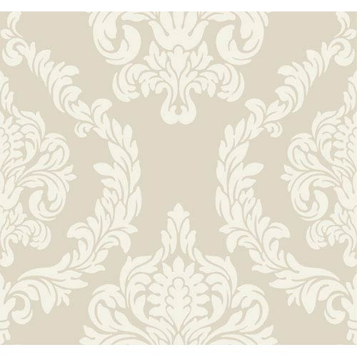 York Wallcoverings Candice Olson Inspired Elements Aristocrat Wallpaper: Sample Swatch Only