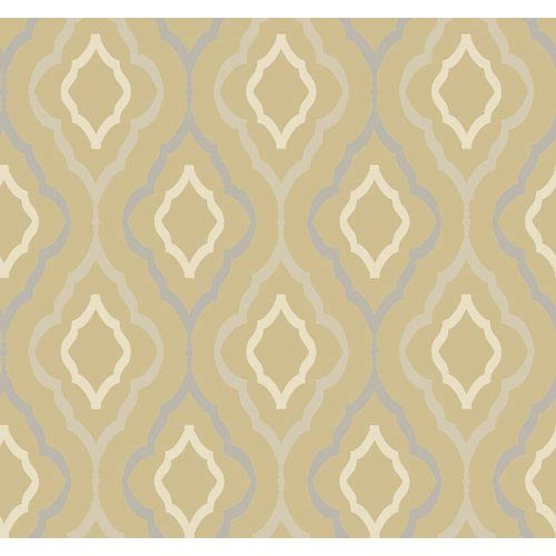 Candice Olson Inspired Elements Diva Wallpaper: Sample Swatch Only