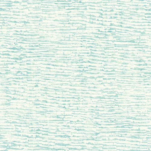 York Wallcoverings Cloud Nine Encaustic Blue and Green Removable Wallpaper-SAMPLE SWATCH ONLY