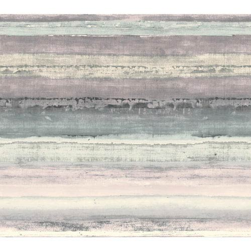 York Wallcoverings Cloud Nine Perspective Purple and Black Removable Wallpaper