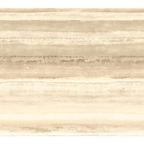 Cloud Nine Perspective Beige Removable Wallpaper-SAMPLE SWATCH ONLY