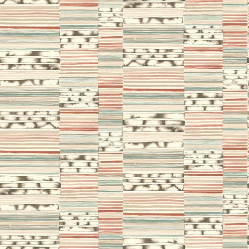 York Wallcoverings Cloud Nine Makisu Red And Green Removable