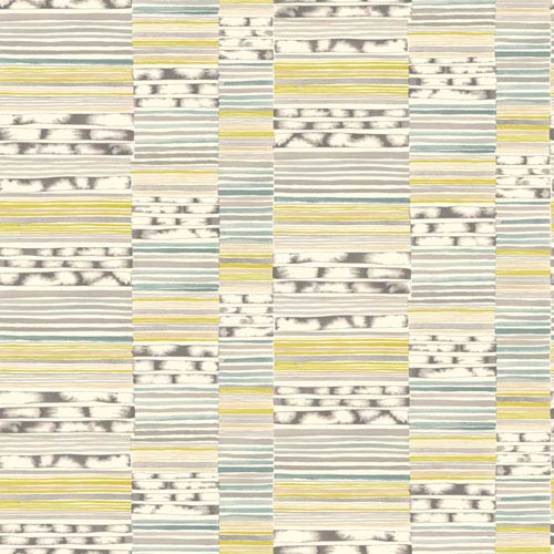 York Wallcoverings Cloud Nine Makisu Green and Blue Removable Wallpaper-SAMPLE SWATCH ONLY
