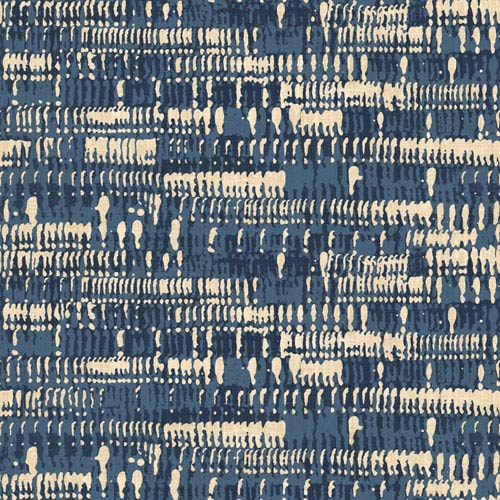 York Wallcoverings Cloud Nine Morse Code Blue Removable Wallpaper-SAMPLE SWATCH ONLY