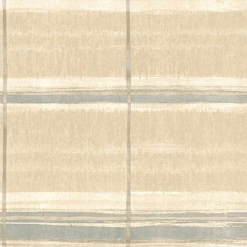 York Wallcoverings Cloud Nine Window Shopping Beige Removable Wallpaper-SAMPLE SWATCH ONLY