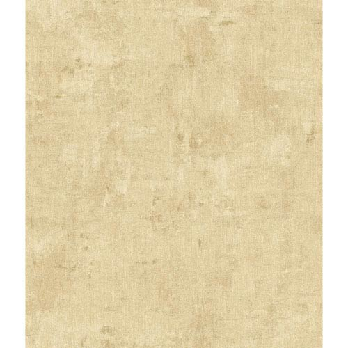 York Wallcoverings Arlington Pale Green and Ecru Vintage Texture Wallpaper