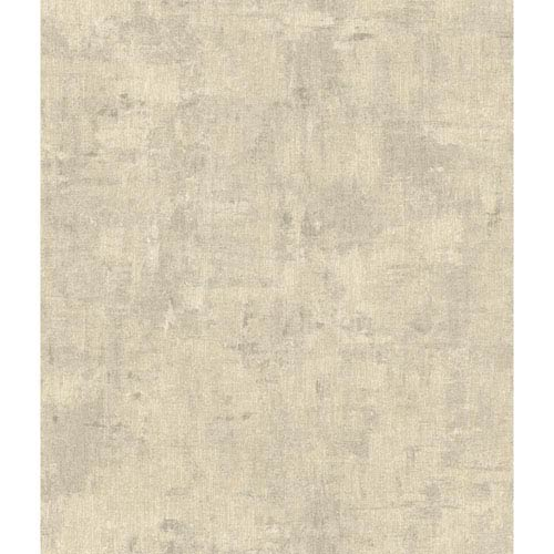 York Wallcoverings Arlington Pale Blue and Grey Vintage Texture Wallpaper: Sample Swatch Only