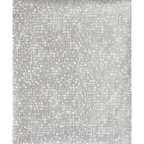 Antonina Vella Modern Metals Interactive White and Silver Wallpaper