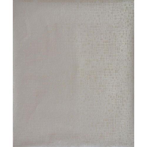 York Wallcoverings Antonina Vella Modern Metals Interactive Grey and Silver Wallpaper - SAMPLE SWATCH ONLY