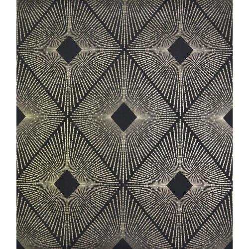 Antonina Vella Modern Metals Harlowe Black and Gold Wallpaper
