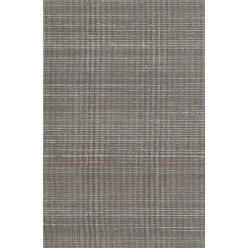 Ronald Redding Designer Resource Metallic Gold and Cream Grasscloth Ground Sisal Wallpaper