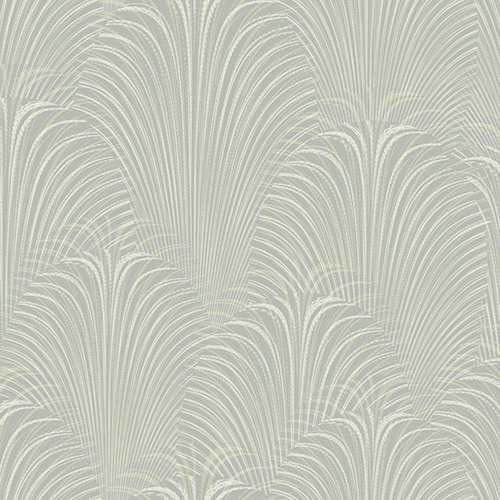 Candice Olson Journey Grey Deco Fountain Wallpaper - SAMPLE SWATCH ONLY