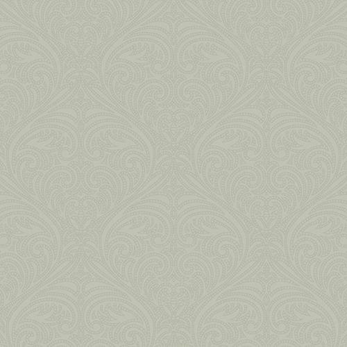 Candice Olson Journey Silver Romance Damask Wallpaper