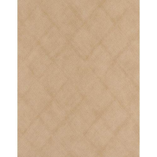 York Wallcoverings Weathered Finishes Earth Brown and Black Burlap Wallpaper