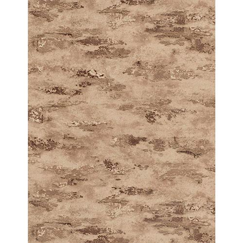 York Wallcoverings Weathered Finishes Cream and Grey Stucco Wallpaper: Sample Swatch Only