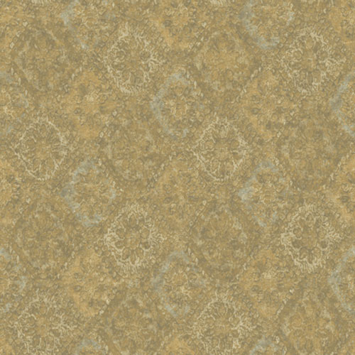 Europa II Bohemian Harlequin Prepasted Wallpaper: Sample Swatch Only