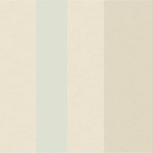 York Wallcoverings Hyde Park Oyster White, Dusty Taupe and Blue Fog Wallpaper: Sample Swatch Only
