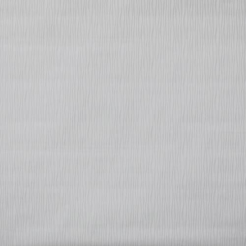 Vertical Ogee Paintable White Wallpaper