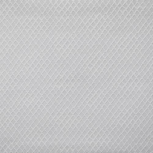 Diamond Trellis Paintable White Wallpaper- Sample Swatch Only