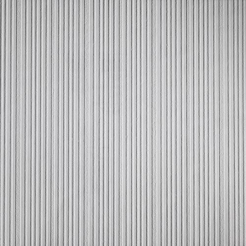 York Wallcoverings Textured Stripe Paintable White Wallpaper- Sample Swatch Only