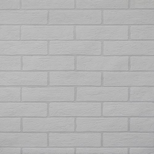 Brick Paintable White Wallpaper