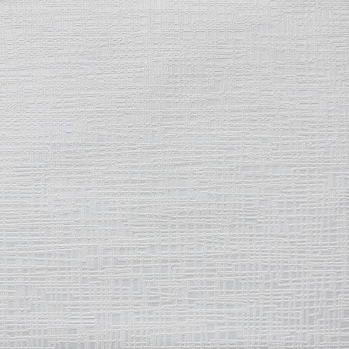 Interlocking Yarn Paintable White Wallpaper