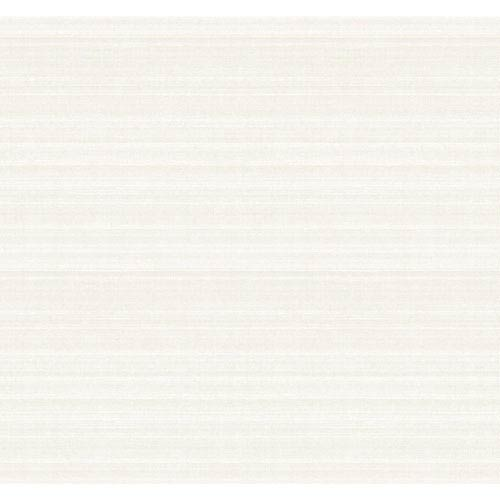 York Wallcoverings Legacy Fine Silk Texture White and Off White Wallpaper-SAMPLE SWATCH ONLY