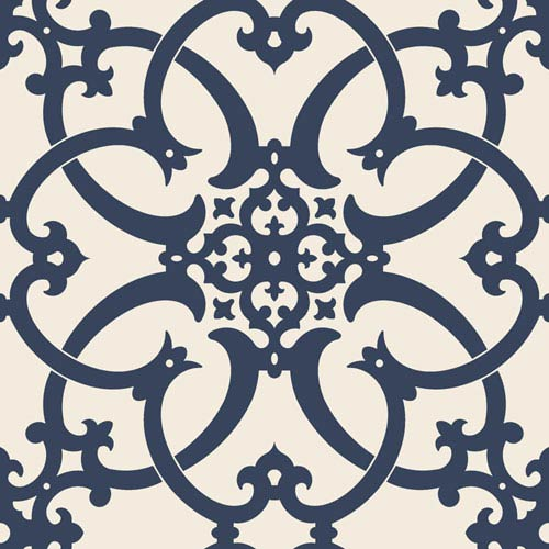 Legacy Antiquity Blue Wallpaper