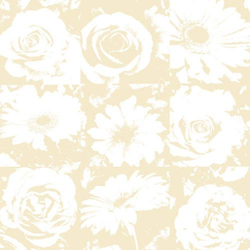York Wallcoverings Risky Business II Petal Pusher Wallpaper: Sample Swatch Only