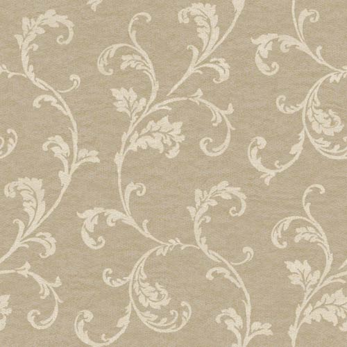 York Wallcoverings Vintage Patina Grey, Cream and Tobacco Brown Wallpaper: Sample Swatch Only