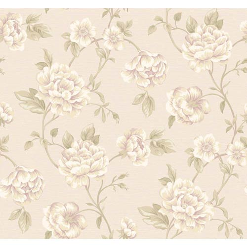 York Wallcoverings Vintage Patina Multi-Colored Wallpaper: Sample Swatch Only