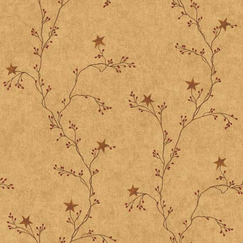 York Wallcoverings Inspired by Color Terra Cotta Wallpaper: Sample Swatch Only