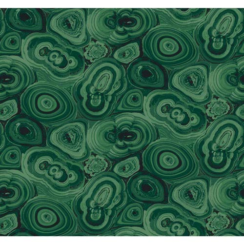 Urban Chic Malachite Wallpaper