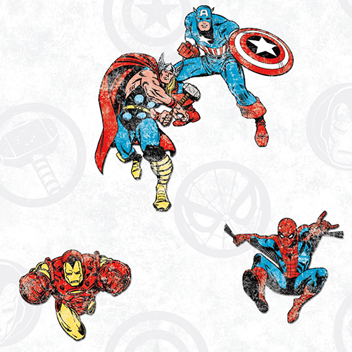 Avengers Classic Peel and Stick Wallpaper