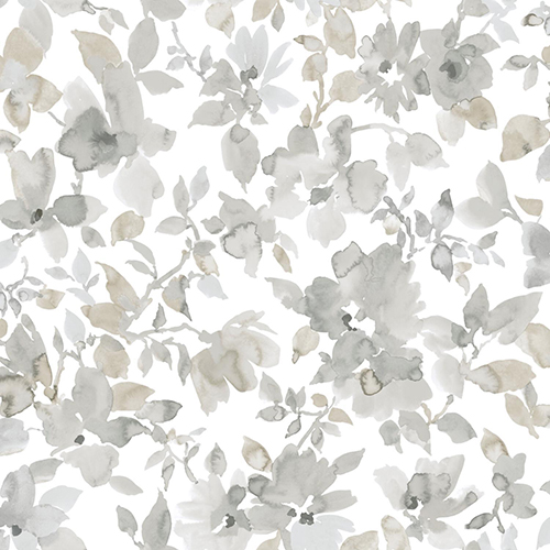 Watercolor Floral Peel and Stick Wallpaper