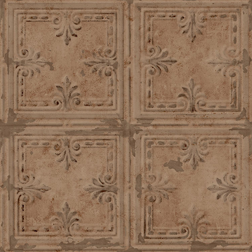 Tin Tile Peel and Stick Wallpaper