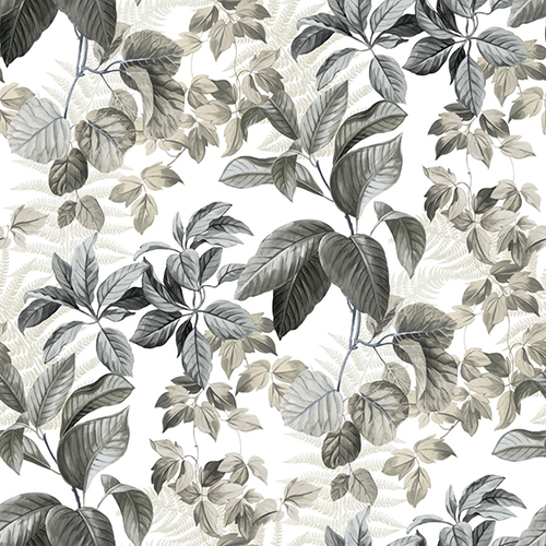 Rainforest Leaves Peel and Stick Wallpaper