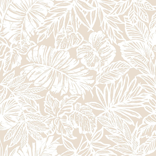 Tropical Leaf Peel and Stick Wallpaper