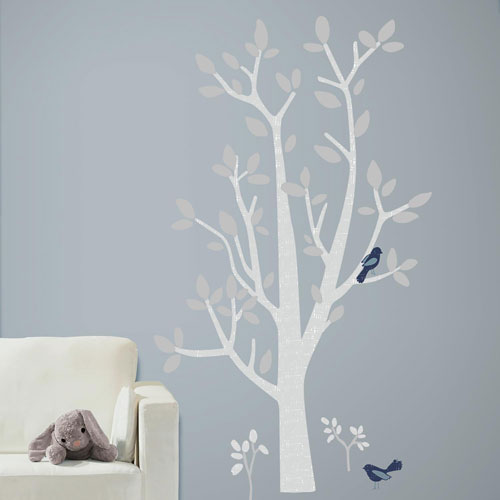 Patina Vie Woodland Tree Peel and Stick Giant Wall Decals