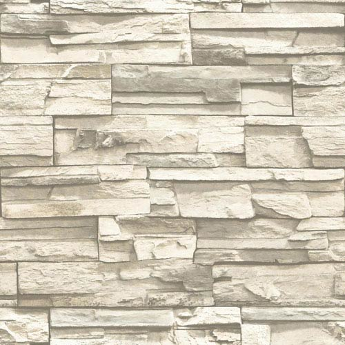 Roommates Decor Natural Stacked Stone Peel And Stick Wall Decor