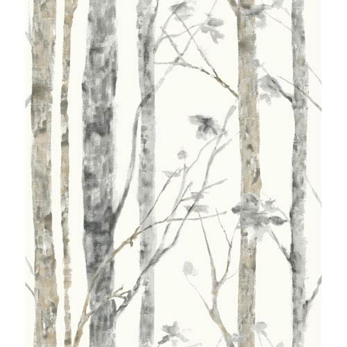 Roommates Decor Birch Trees Peel and Stick Wall Decor