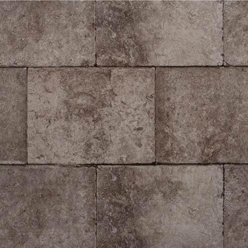 York Wallcoverings Modern Rustic Dark Gray and Raven Black Wallpaper: Sample Swatch Only