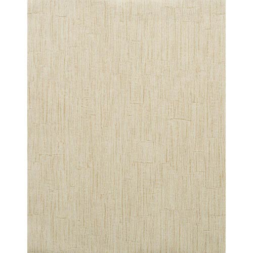 York Wallcoverings Modern Rustic Asparagus Tip Green, Off White and Dark Tan Wallpaper